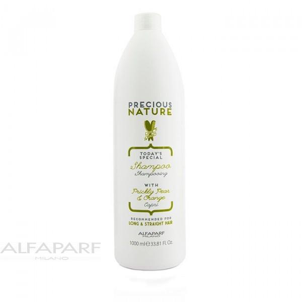 Шампунь для длинных и прямых волос Alfaparf Precious Nature Long/Straight Hair Oil Shampoo 1000 мл 12517 / 12517