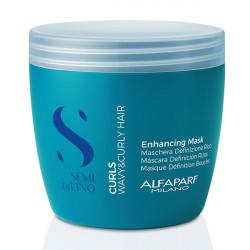Маска для кудрявых и вьющихся волос Alfaparf Semi Di Lino Curls Enhancing Mask 500 мл 20617
