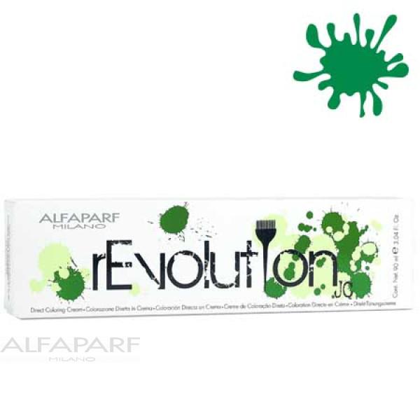 Краситель прямого действия Alfaparf Revolution Pure Green зеленый 90 мл 2293