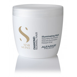 Маска для нормальных волос блеск Alfaparf Semi Di Lino Diamond Illuminating Mask 500 мл 16450