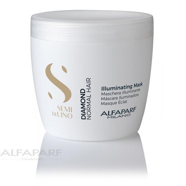 Маска для нормальных волос блеск Alfaparf SDL Diamond Illuminating Mask 500 мл 16450