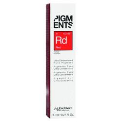 Пигмент-тюбик красный, PIGMENTS Red 8мл ALFAPARF 014107-1