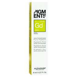 Пигмент-тюбик золотистый .3, PIGMENTS Gold 8мл ALFAPARF 014112-1