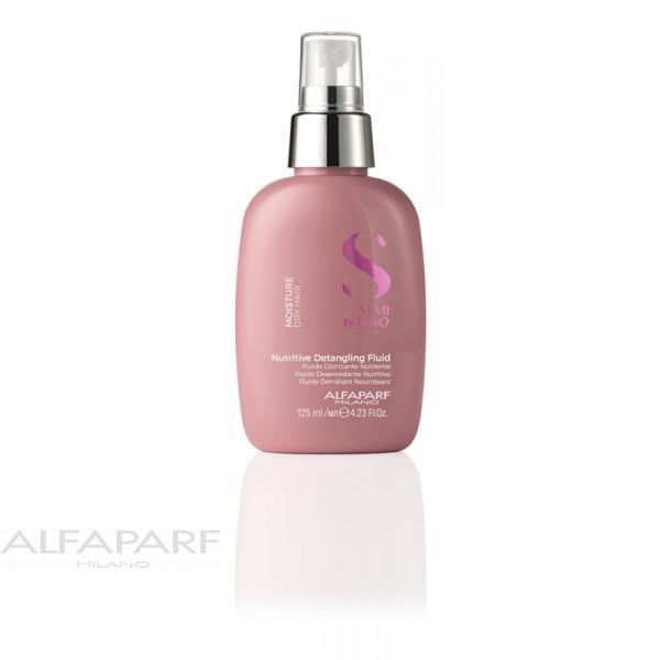 Увлажняющий флюид для посечённых кончиков волос Alfaparf Semi Di Lino Moisture Detangling Fluid 125 мл 16422